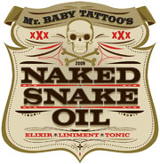 Naked Snake Oil Logo